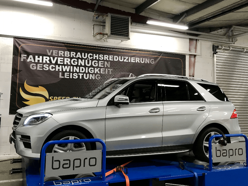 Mercedes ML (W166) Chiptuning